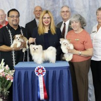 Bonsai and Family win at ICE show 3 20 2015